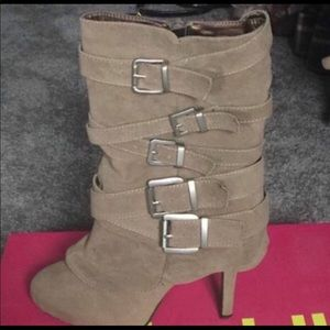 Shoes - Charlotte Russe Boots Size 8